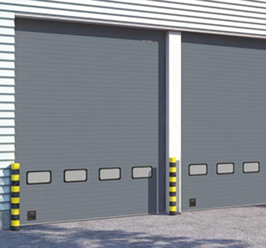 Промышленные секционные ворота и технические двери