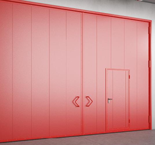 Противопожарные ворота, шторы и двери