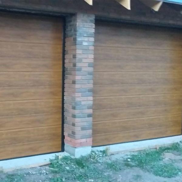 Секционные ворота из сэнвич-панелей DoorHan, п. Зимняя Горка, РТ