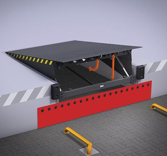 Перегрузочная техника – Платформа с поворотной аппарелью