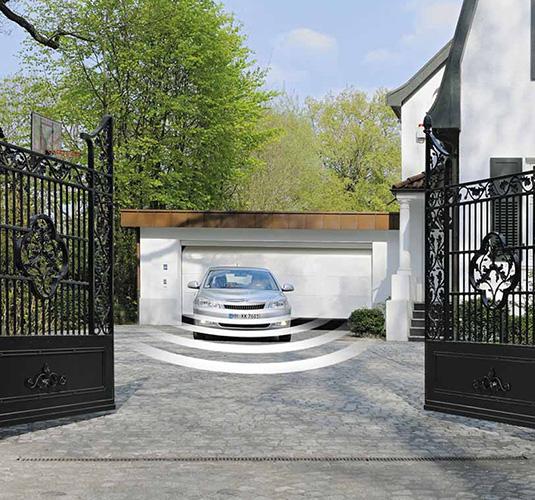 Приводы въездных ворот